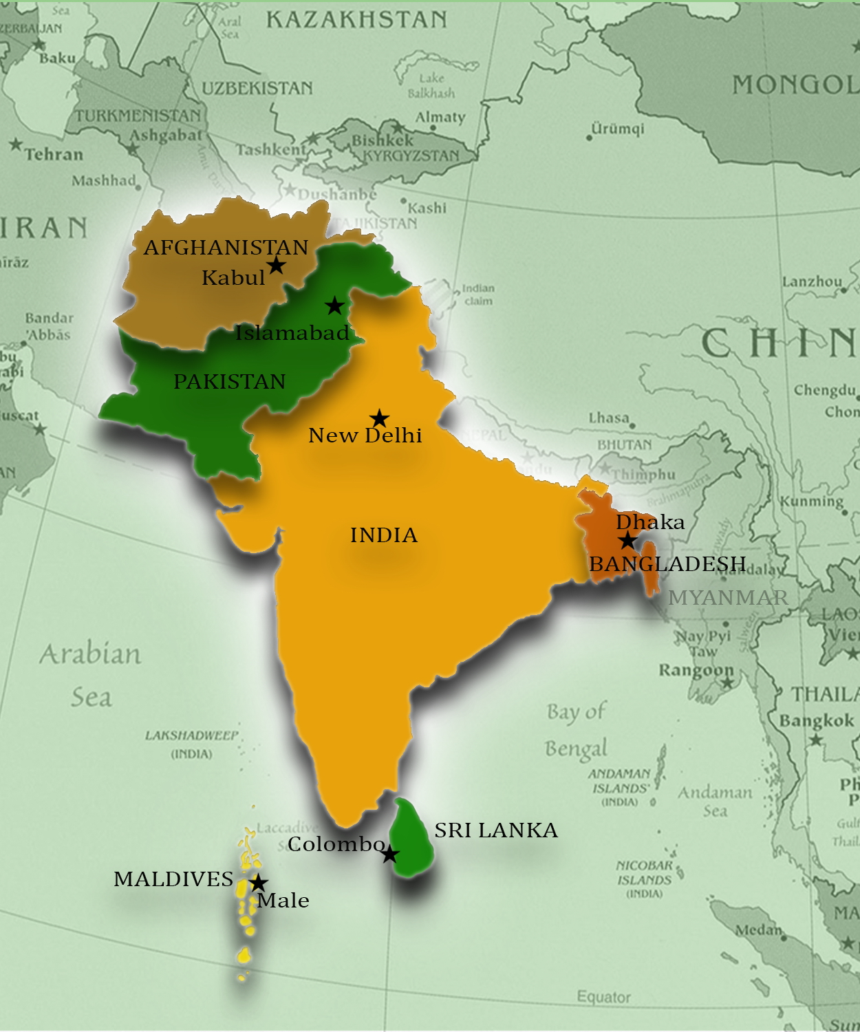 Indian Subcontinent